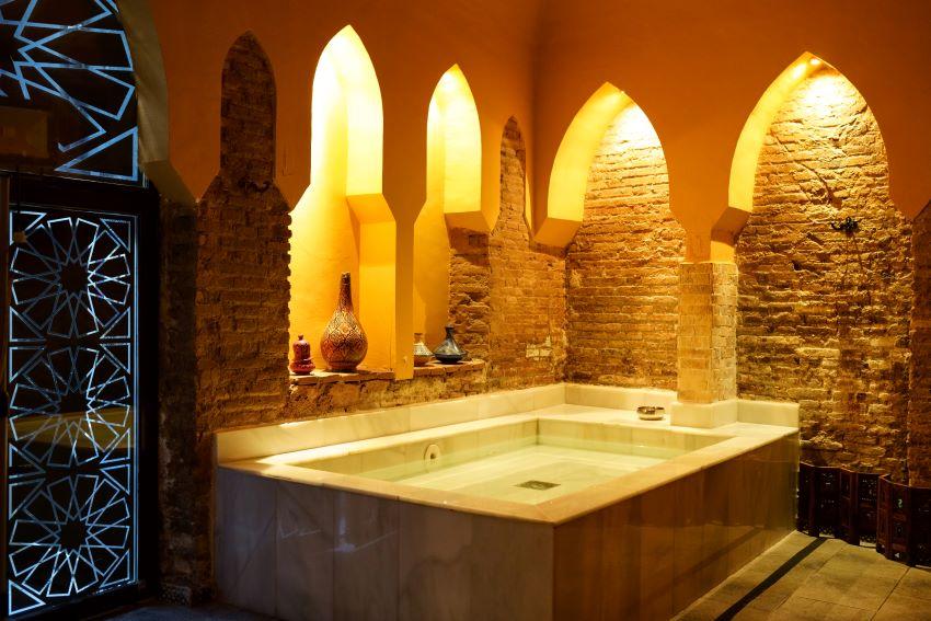 Los baños árabes y hamman más recomendados de Granada
